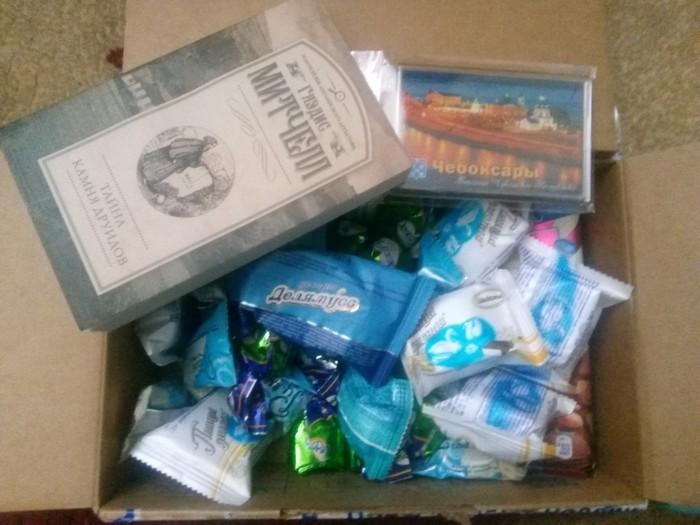 АДМ из Чебоксар Отчет по обмену подарками, Конфеты, Тайный Санта, Обмен подарками