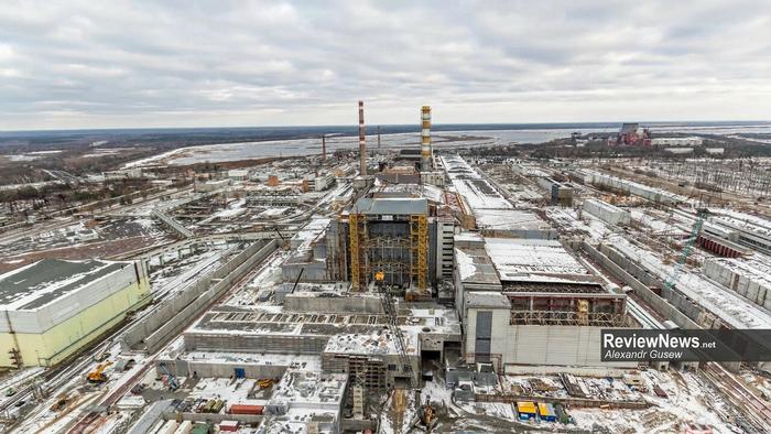 Процесс надвижки Арки на Чернобыльскую АЭС (часть.1) Чернобыль, ЧАЭС, Ликвидация, Новарка, Украина, Припять, Саркофаг, Длиннопост