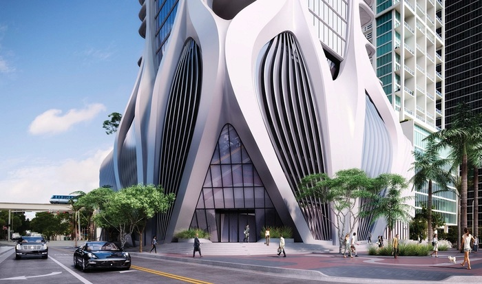 Квартира за 1,5 миллиарда рублей Майами, Архитектура, Жилье, Недвижимость, Заха Хадид, Варламов, США, Флорида, Длиннопост