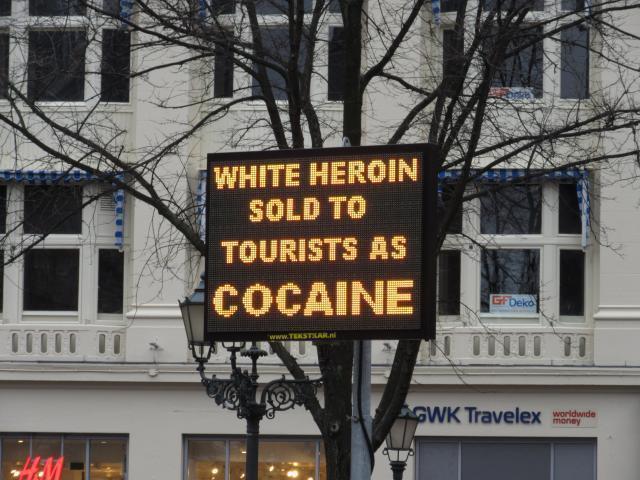 Просто забота о туристах Амстердам, Кокаин, Наркотики, Нидерланды, Забота
