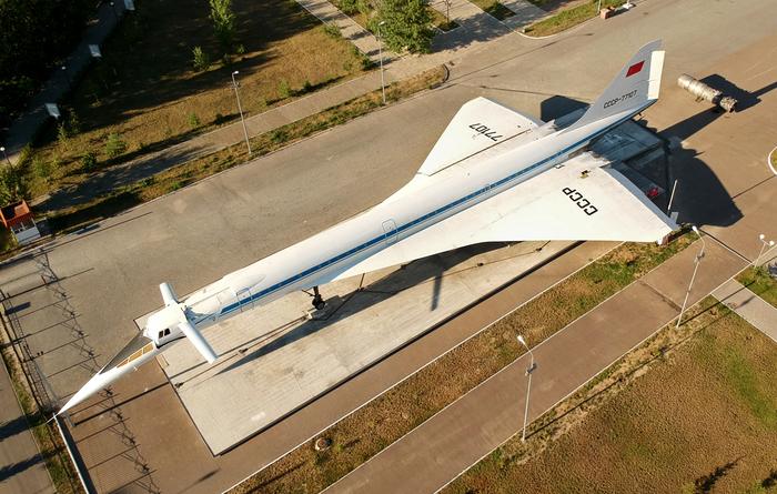 Ту-144 с высоты птичьего полета Ту-144, Авиация, Фотография, Казань, Памятник