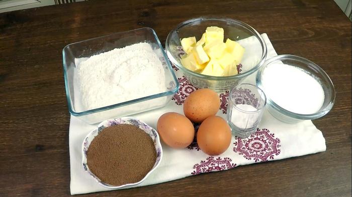 Мраморный кекс с горячим шоколадом С дедом за обедом, Еда, Кулинария, Мраморный кекс, Кекс, Шоколадный кекс, Видео, Длиннопост, Рецепт