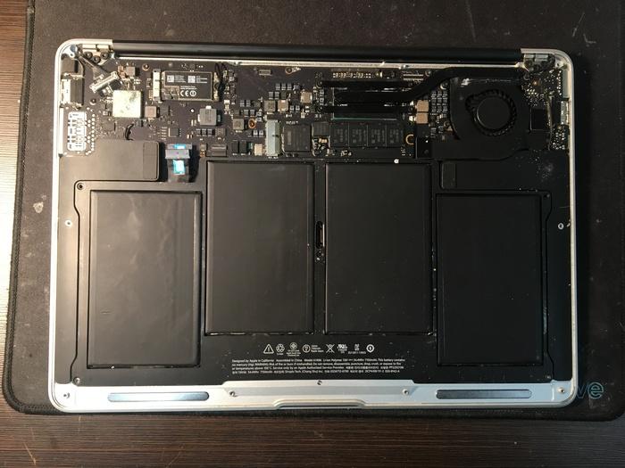 Ещё один MacBook после другого сервиса. MacBook Air 13 2013 Ремонт ноутбуков, Ремонт техники, Macbook, Реболлинг, Видео, Длиннопост