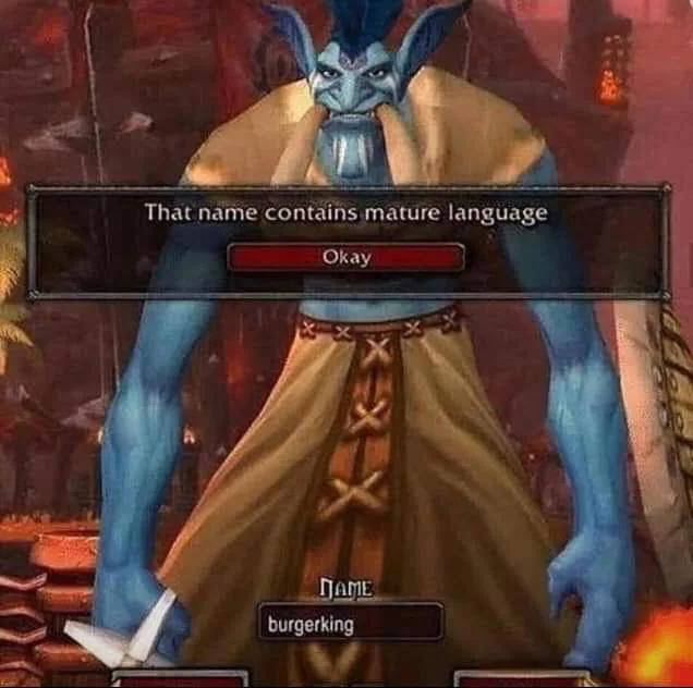 Какого черта... McDonalds? World of Warcraft, Картинки