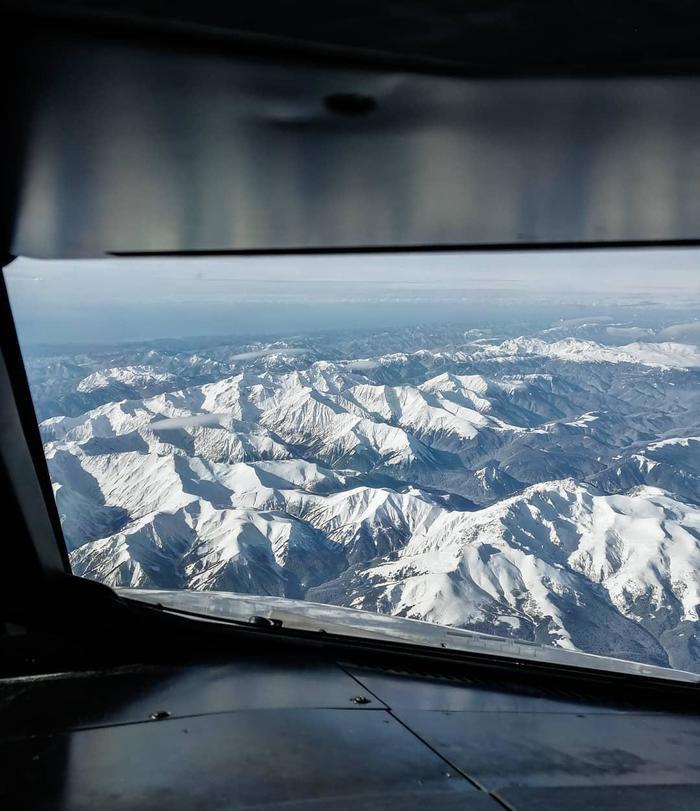 Наверное, один из самых красивых заходов на посадку в России Сочи, Горы, Самолет, Длиннопост, Авиация