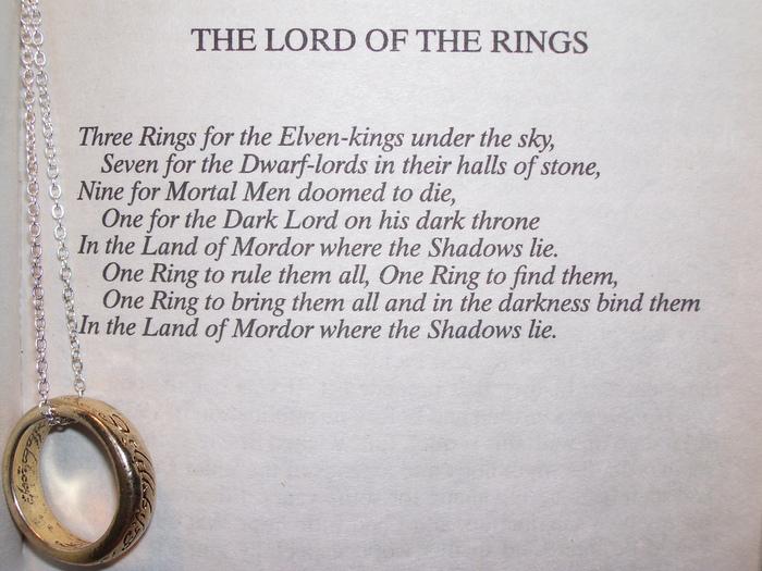 Джон Р.Р. Толкин умер в 1973 году Властелин колец, Кольцо всевластия, Толкин, Reddit