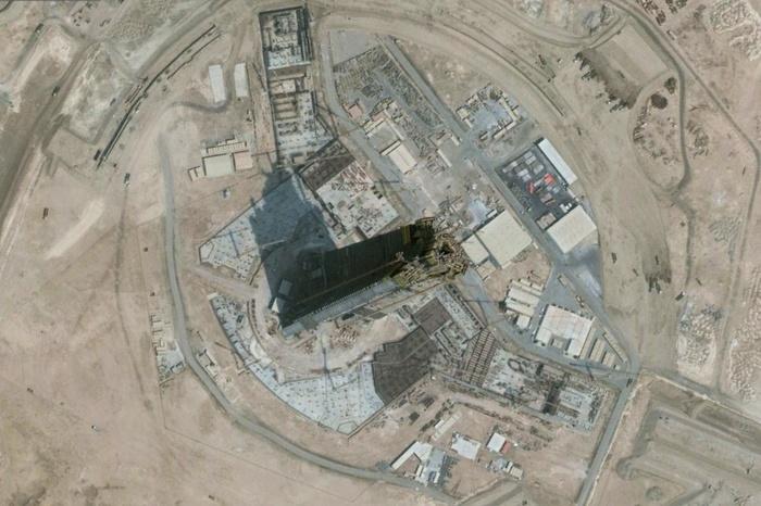 Строительство самого высокого здания в мире Jeddah Tower, декабрь 2018 (1007 метров) Jeddah Tower, Jeddah, Kingdom Tower, Небоскреб, Самое высокое здание в мире