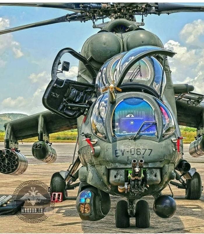 Атмосферный Ми-24