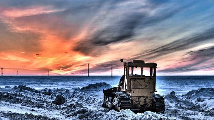 Арктический HDR HDR, Canon 650d, 18-55 kit, Сабетта, Арктика, Фотография, Canon