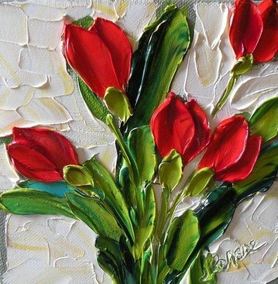 Jan Ironside Цветы, Живопись, Современное искусство, Картина маслом, Длиннопост