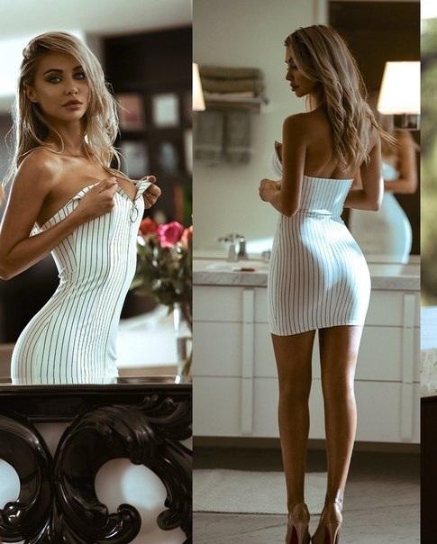 Платье и девушка #159.0 Красивая девушка, Хорошо сидит, Сексуальная, Девушки, Блондинка