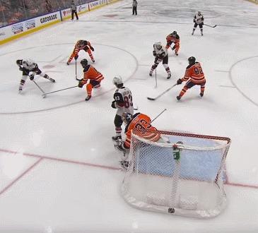 """""""В хоккей играют настоящие мужчины"""" © Спорт, Хоккей, Нхл, Конор Гарланд, Респект, Гифка"""