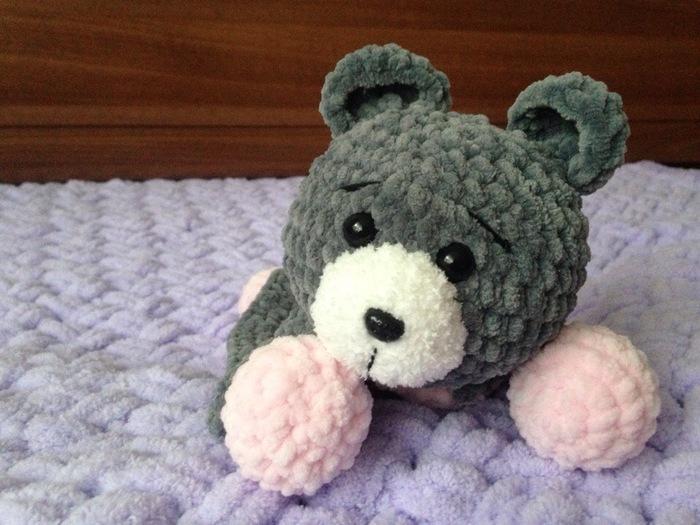 Плюшевый комфортер Ручная работа, Медведь, Комфортер, Плюшевый медведь, Вязание крючком, Вязаные игрушки, Длиннопост