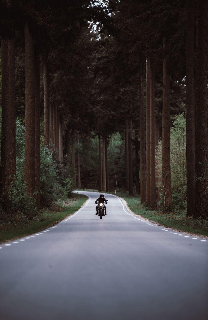 Дорога Мотоциклист, Дорога, Длиннопост