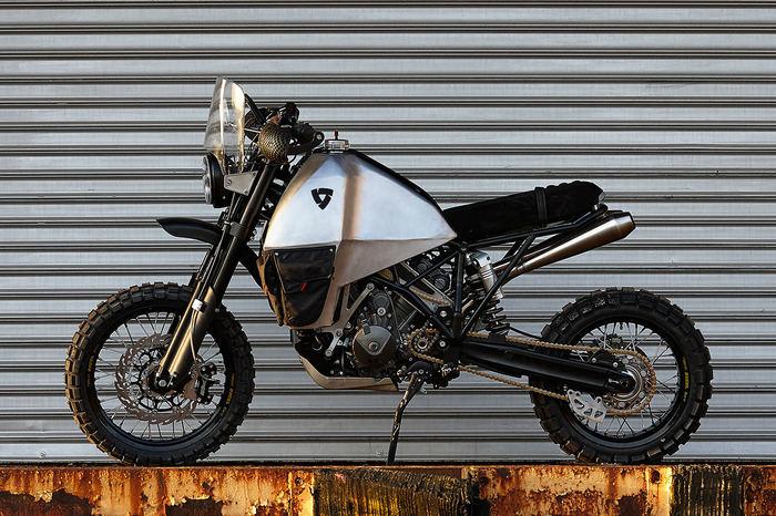 Полноприводный мотоцикл KTM Мото, Мотоциклы, Мотоциклист, Эндуро, Самоделки, Искусство, Кастом, Длиннопост