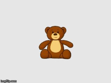 Мишка Анимация, Медведь, Гифка