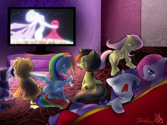 Как они могли! Рэй, за что?! (плачет) Аниме, Eva, Evangelion, My Little Pony, MLP Crossover, MLP Sad