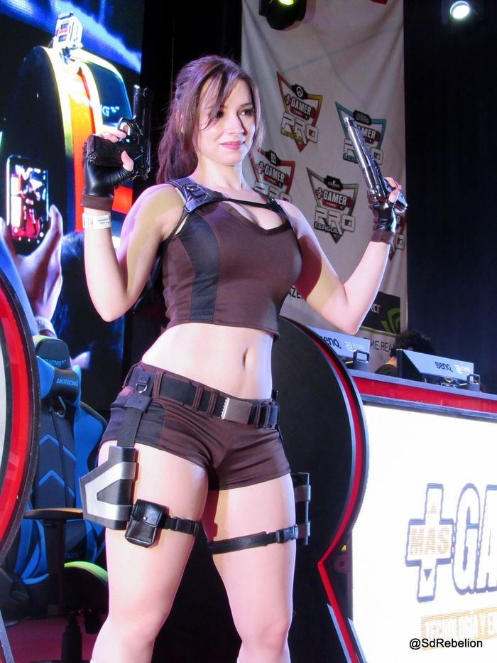 Lara Croft < Enji Night > Косплей, Косплееры, Компьютерные игры, Костюм, Tomb raider, Длиннопост, Лара Крофт, Enji Night