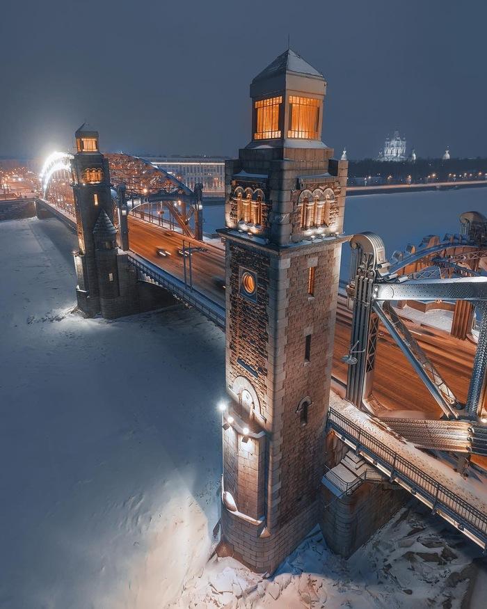 Питерские места (Большеохтинский мост)