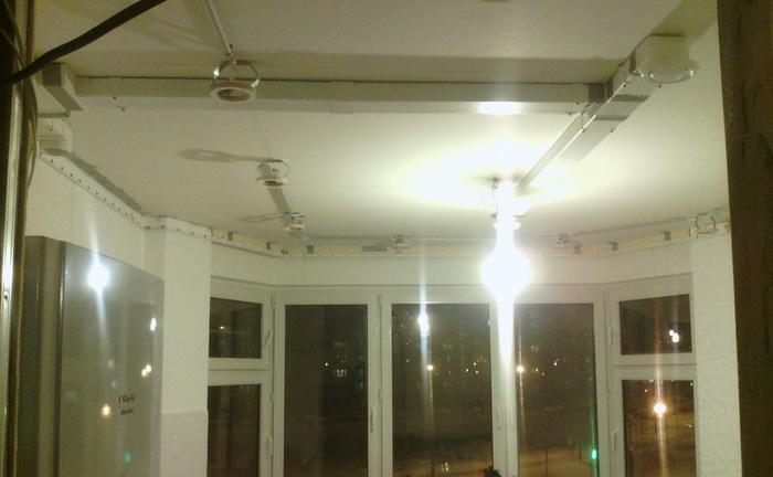 Натяжной потолок своими руками Строительство и ремонт, Своими руками, Длиннопост