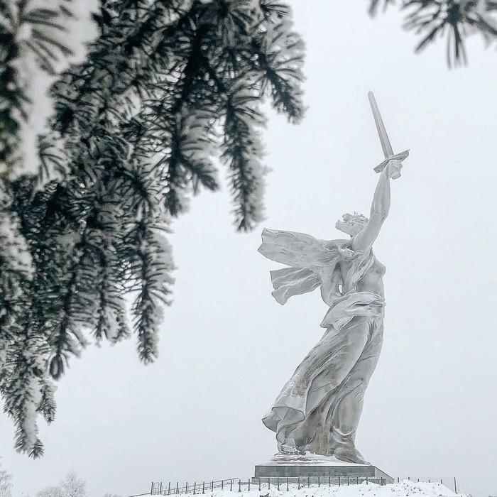 Волгоград - он у каждого свой... Волгоград, Фотография, Город, Зима, Длиннопост