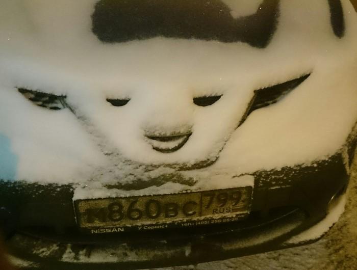 Ну как погода? Москва, Машина, Парейдолия, Фотография