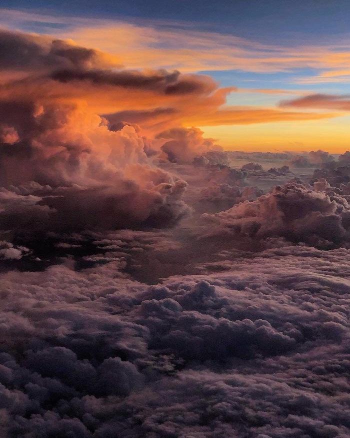 Небеса Фотография, Небо, Облака, Закат