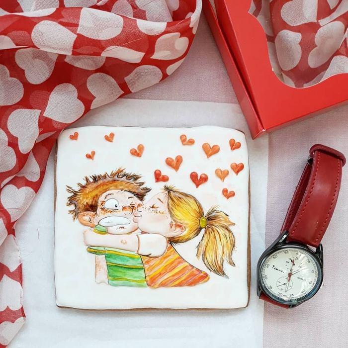 Любовь - морковь))) Подарок, Пряники, Своими руками, Любовь