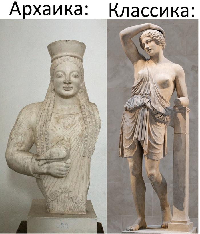100 years challenge 10yearschallenge, Древняя греция, Античность, Архаика, Длиннопост