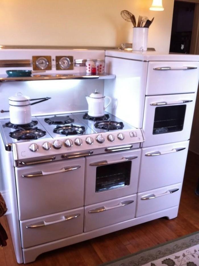 Кухонный антиквариат и ретро стиль Кухня, Ретро, Длиннопост