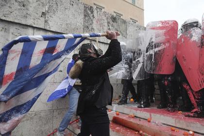 Греки взбунтовались против нового названия Македонии Новости, Международные новости, Греция, Македония, Переименование, Бунт, Протест