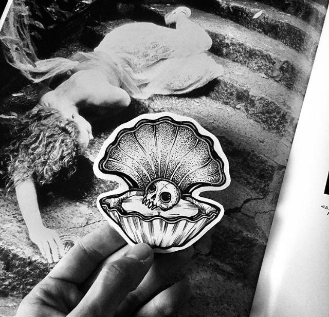 Подборка моих эскизов. Черепа Эскиз, Эскиз татуировки, Тату, Графика, Рисунок, Длиннопост