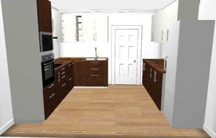 Технические решения «Как сделать кухню удобной» на примере кухни с эркером в П44-Т. Кухня, Ремонт, Мойка, Дизайн, Дизайн интерьера, ИКЕА, П44-т, Технические решения, Длиннопост