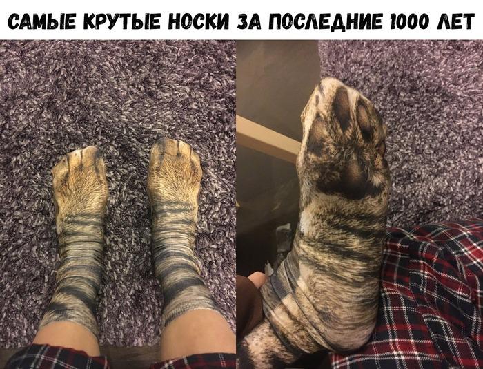 Прикольные носки)