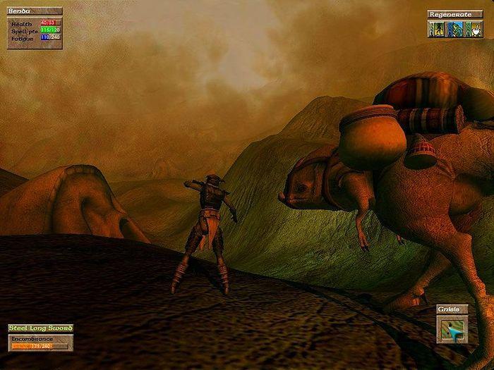 Ранние скриншоты Morrowind Игры, Компьютерные игры, Morrowind, The Elder Scrolls, Длиннопост