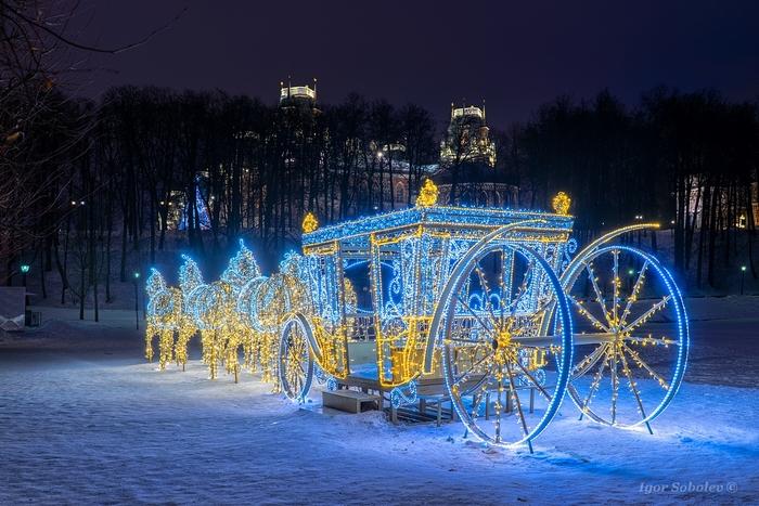 Новогоднее в Царицыно Царицыно, Москва, Фотография, Новый Год