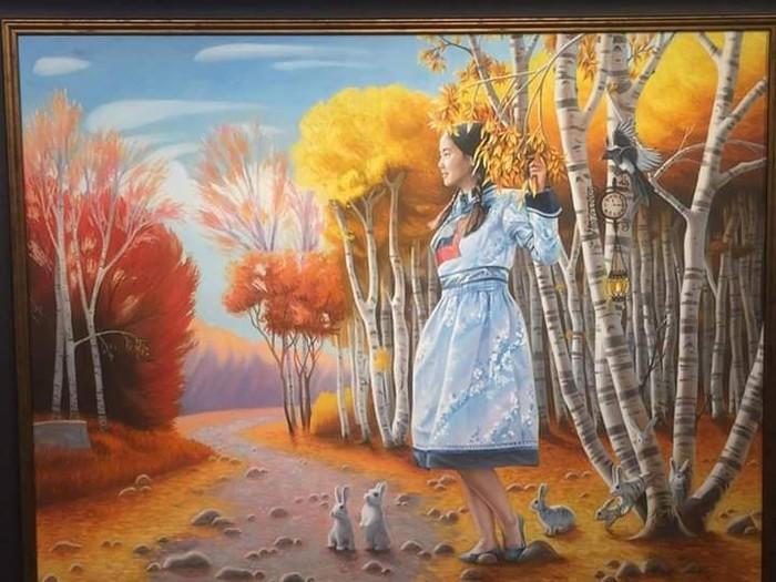 Картины из Бурятии Необычные картины, Мастера исскуства, Этнос, Длиннопост