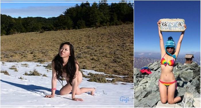 «Скалолазка в бикини» замерзла насмерть в ущелье Новости, Негатив, Горный туризм, Путешествия, Скалолазание, Длиннопост