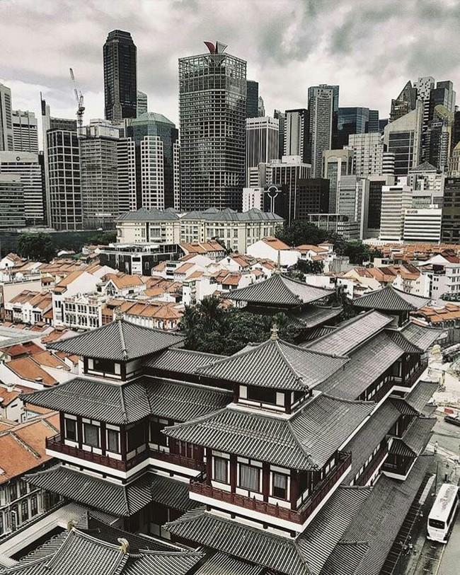 Старый и новый район Сингапура