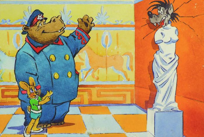 """За кадром """"Ну, погоди!"""" Ну погоди!, Мультфильмы, Советские мультфильмы, Создание, Интересное, За кадром, Гифка, Длиннопост"""