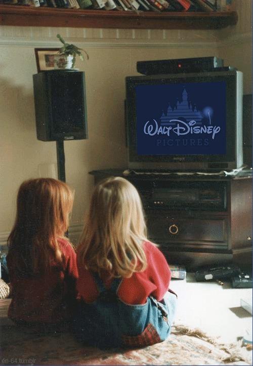 Ностальгии пост Детство, Ностальгия, Раньшебыловеселее, Walt Disney Company, Телевизор, Гифка, Длиннопост