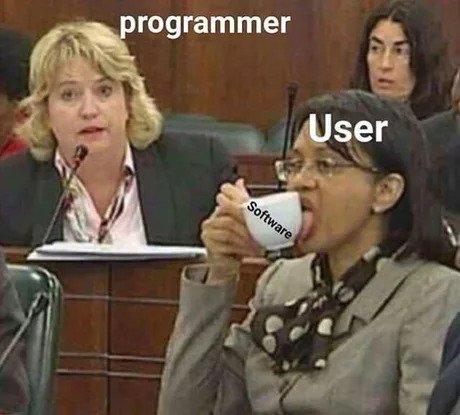 Когда видишь, как пользователи используют твою программу