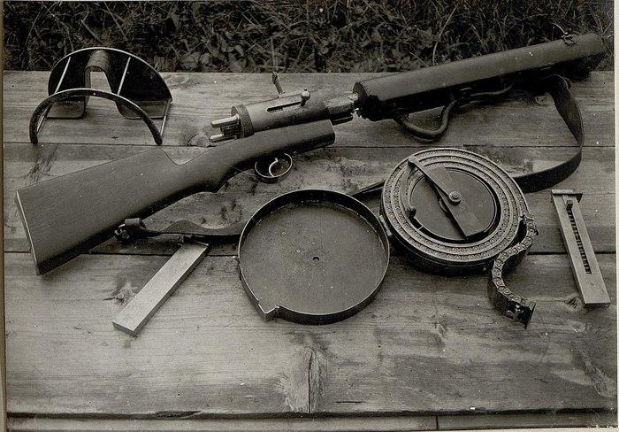 Странные и необычные пистолеты-пулемёты. Оружие, Редкое и необычное оружие, Пистолет-Пулемет, Длиннопост