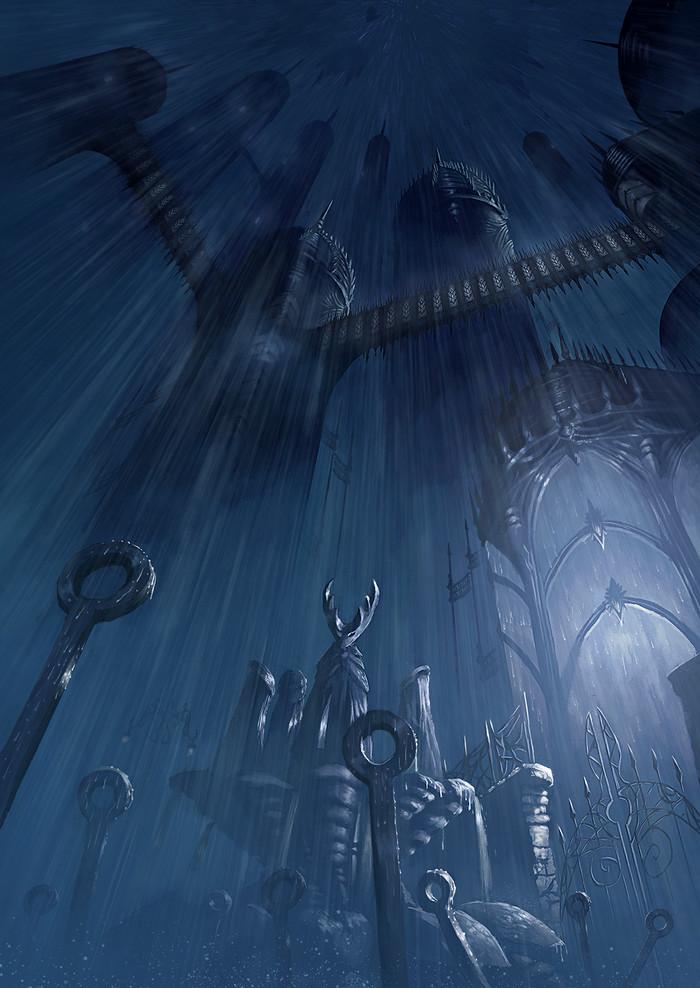 City of tears Hollow Knight, Игры, Арт