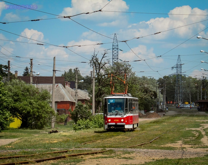 Летний трамвайчик Трамвай, Электротранспорт, Харьков, Tatra, Фотография