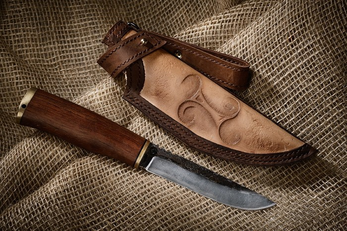Кожевенно-ножевенное #1 Кожа, Нож, Изделия из кожи, Своими руками