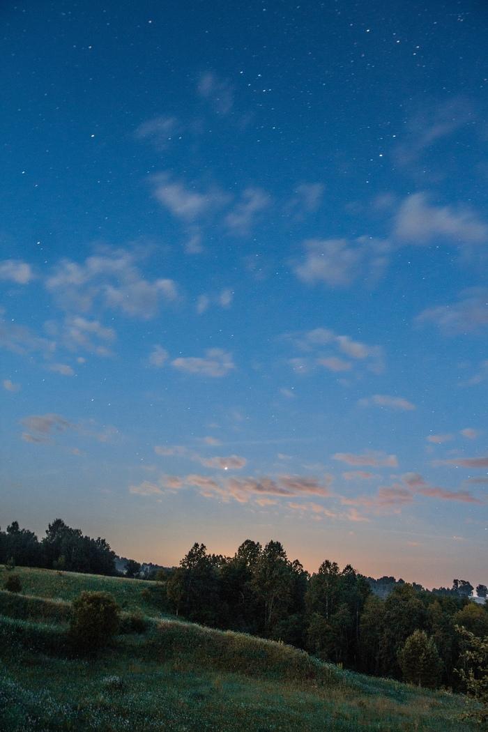 Летняя ночь. Фотография, Ночная съемка, Canon, Пейзаж, Длинная выдержка, Длиннопост