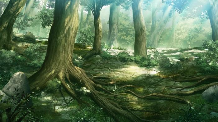 Почему лесное настроение? Мечта, Лес, Природа, Фантазия, Мастерская, Длиннопост