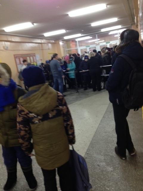Вход в школу стал платным. Школа, Нарушение, Усть-Илимск, Длиннопост, Негатив