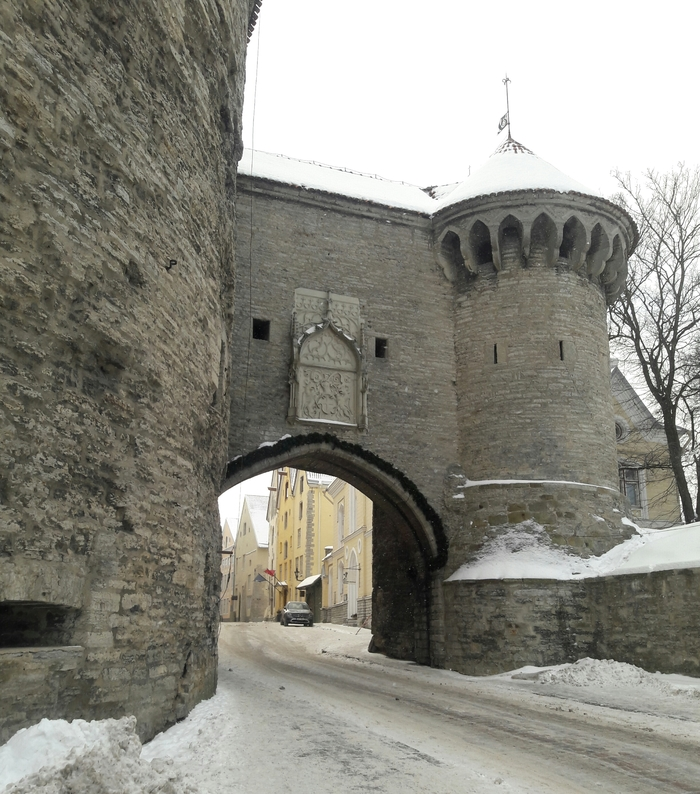 Покой зимнего Таллина. Эстония, Таллин, Прогулка, Длиннопост